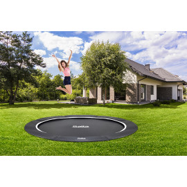 Salta Trampolin Royal Baseground Sport Ø396 cm, sort - 805-594