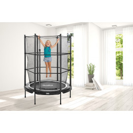 Salta Trampolin Junior Ø139x189 cm, sort - 805-596