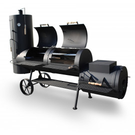 "SmokyFun Big Chief 24"" Offset Smoker"