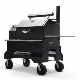 Yoder Smokers YS640S Competition Cart Sort Træpillegrill
