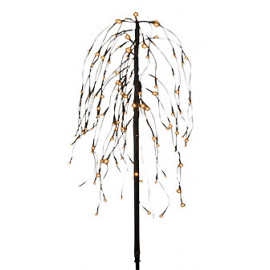 Veli Line Weeping Willow 96led - Timer 6/18 Battery 100cm