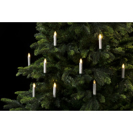 Veli Line Led Christmas Light - Juletræslys 10stk Incl Remote