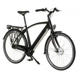 E-bike model E650 Herre - Mat sort