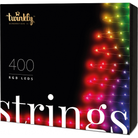 Twinkly String Smart Lyskæde 400 LED - Version 2.0 - 2019 Udgave