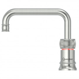 Image of   Quooker Classic Nordic Single Tap Square - Rustfrit stål