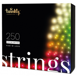 Twinkly String Smart Lyskæde 250 LED S.E. - Version 2.0 - 2019 - Warm White Edition