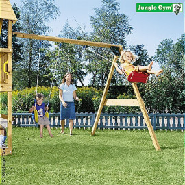 Jungle Gym Swing Module KOMPLET inkl. træpakke