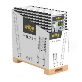 Wibe Teleskopstige Tl, Display - WTL-2,9