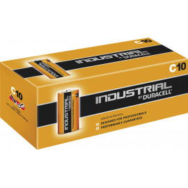 Image of Duracell Industrial C 10pk Professional Carton