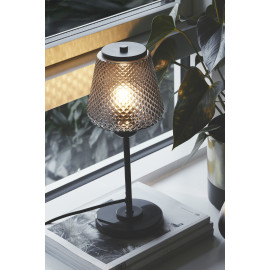 Halo Design DAMN FASHIONISTA Bordlampe Ø15, Smoke/Sort
