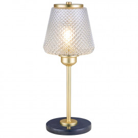 Halo Design DAMN FASHIONISTA Bordlampe Ø15, Klar/Messing