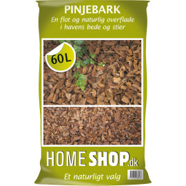 Homeshop Pinjebark 60lt