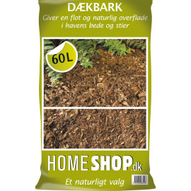 Homeshop Dækbark 60lt