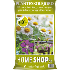 Homeshop Planteskolejord 60lt