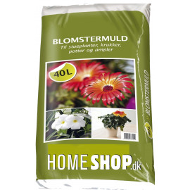 Homeshop Blomstermuld 40lt