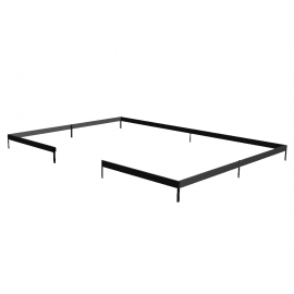 Juliana Fundament Grand Oase 18,8 m² sort - F06429