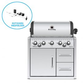 Broil King Imperial 590 Indbygningsgrill med skab built-in
