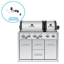 Broil King Imperial XLS Indbygningsgrill med skab built-in