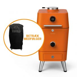 Everdure Kul Grill 4k Orange By Heston Blumenthal Inkl. Betræk