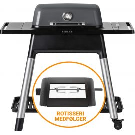 Everdure Force HBG2GSCAN Gasgrill - Graphite Inkl Rotisseri