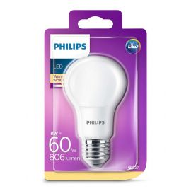 Philips Led 60w A60 E27 Ww - 230v Fr Nd Srt4