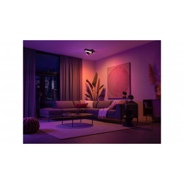 Philips Hue Centris-loftslampe med 3 spots - Bluetooth - 8718696176023