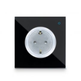 Iotty Smart Outlet - The smart outlet that innovates your home Colour: Black