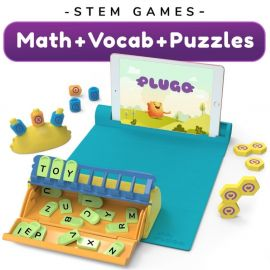 Shifu Plugo: STEM Wiz Pack - 3 in 1 - Math, Vocabulary & Puzzles