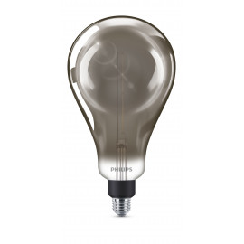 Philips LED Classic Giant Filament 40W Stor Globe E27 Smoky dæmpbar 1 stk - 8718696815106