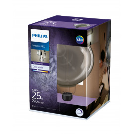 Philips LED Classic Giant Filament 40W Stor Standard E27 Smoky dæmpbar 1 stk - 8718696815069
