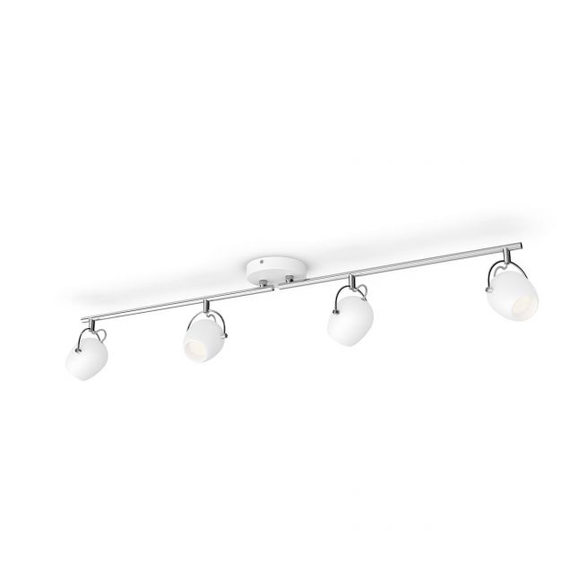 Philips myLiving RIVANO bar/tube Hvid 4x4.3W SELV - 8718696170007