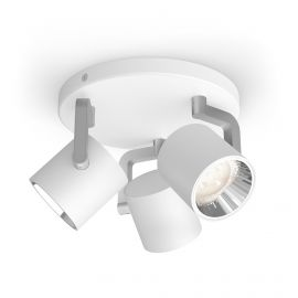 Philips LED SceneSwitch BYRL plate/spiral Hvid 3x4.3W SELV - 8718696170229