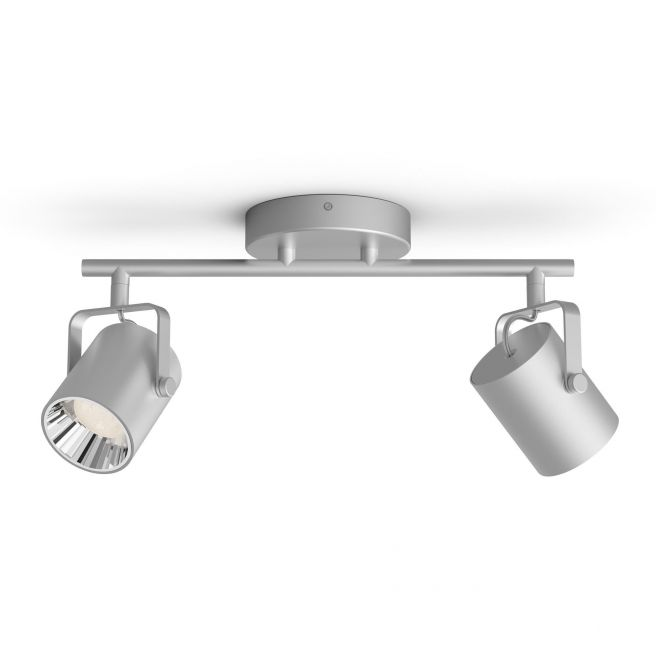 Philips LED SceneSwitch BYRE bar/tube silver 2x4.3W SELV - 8718696170120