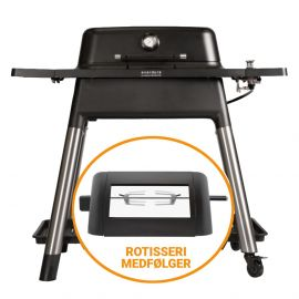 Everdure Force 34820028 Gasgrill - Sort Inkl. Rotisseri