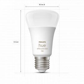 Philips Hue White Color Ambience 9W A60 E27 2P - 929002468802