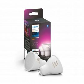 Philips Hue White Color Ambience 4.3W GU10 2P R - 929001953112