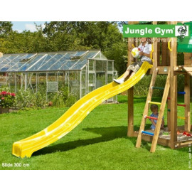 Rutschebane Jungle Gym Gul 2,65 m.