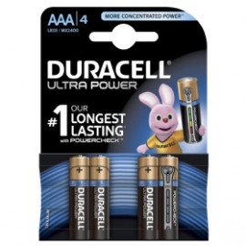 Duracell Ultra Power AAA - 4pk. - Batteri