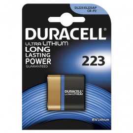 Duracell Electronic Photo 223 - 1pk. - Batteri