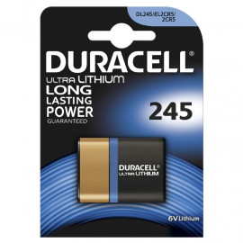 Duracell Ultra Photo 245 - 1pk. - Batteri
