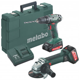 Image of   Metabo Combo 2.4.3 Bs18+w18 2x2,0