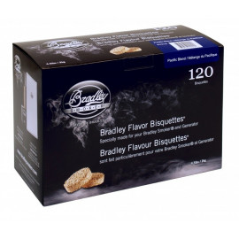 Bradley Pacific Blend Bisquettes 120 stk.