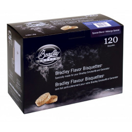 Image of Bradley Special Blend Bisquettes 120 stk.