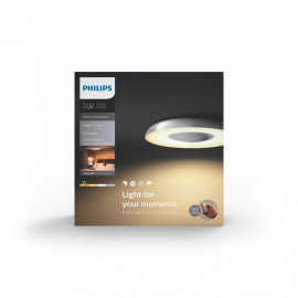 Image of Philips Hue Connected Still Plafond Aluminum