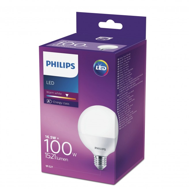 Philips LED Globe 16,5W E27 U