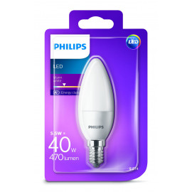 Philips LED Kerte 5,5W E14 VV