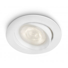 Philips Ellipse Recessed Led Hvid 3x4w