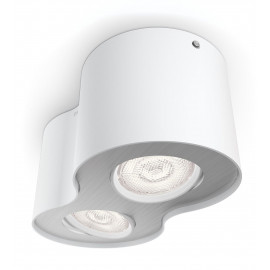 Philips Phase Plate/spiral Hvid 2x4.5w