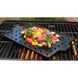 "Flame-Friendly Keramisk Grillrist / 14.5""x10.2"""