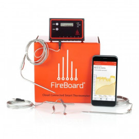 Image of FireBoard FBX11 Extreme BBQ Kit - 2 ambient/6 mad probes/2 grill clips/lader